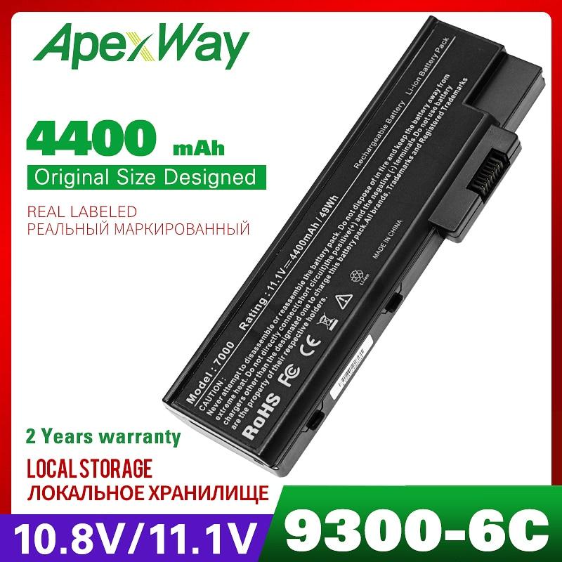 4400mAh Laptop Battery For ACER Aspire 5670 7000 7100 7110 9300 9400 9500 TravelMate 4220 4670 5600 5610 5620 7510 BT.00803.014