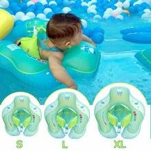 Obręcz do pływania dla dziecka nadmuchiwane niemowlę pływające dzieci Float basen kąpielowy akcesoria koło kąpiel dmuchany pierścień zabawka dla Dropship