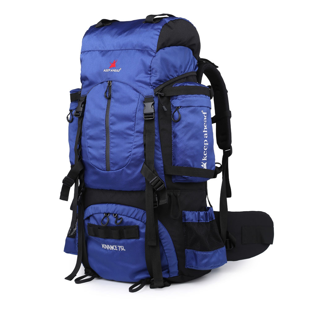 Outdoor 65L Camping Hiking Climbing Backpack Waterproof Military Heavy Duty Bag