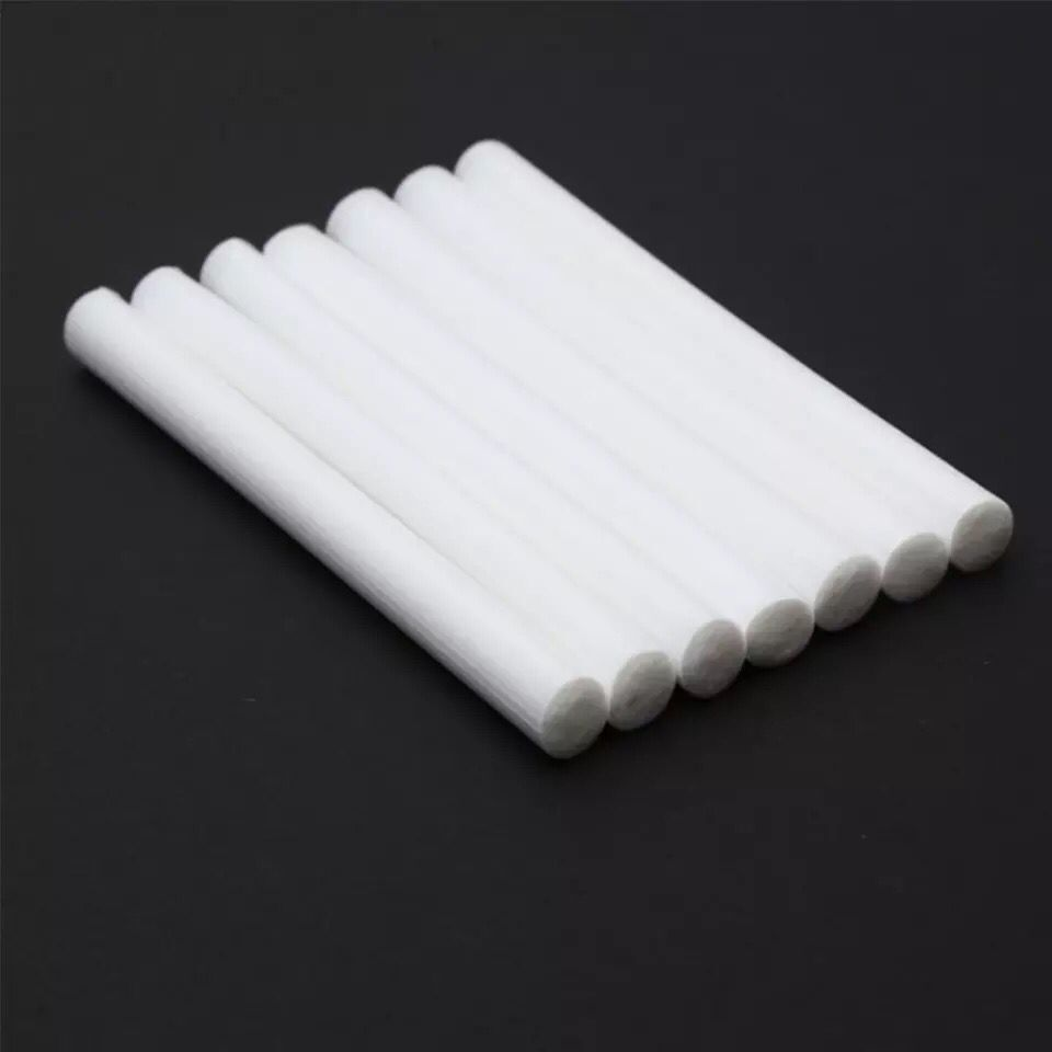Friendly 8mm*100mm Cotton Swab H2o Humidifiers Filters For Usb Humidifiers Aroma Diffusers 10pieces/lot Replace Humidifier Stick Can Cut Goods Of Every Description Are Available