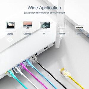 Image 3 - SAMZHE Cat6A câble de raccordement Ethernet ultrafin ordinateur RJ45 mince, PS2,PS3,XBox réseau LAN cordons 0.5m 1m 1.5m 2m 3m 5m 8m 10m
