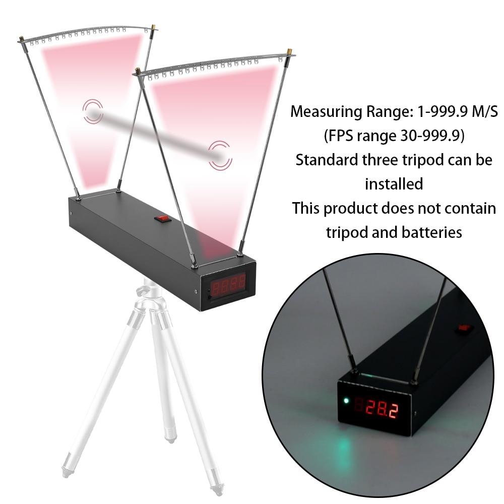 Compteur de vitesse vélocimétrie Instrument de mesure de vitesse outil de mesure de vitesse chronographe pour tir playthings