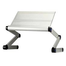 Alüminyum dizüstü katlanır yatak masaüstü bilgisayar masası ayarlanabilir dizüstü masası bilgisayar standı masaları ofis masası kahvaltı tepsisi