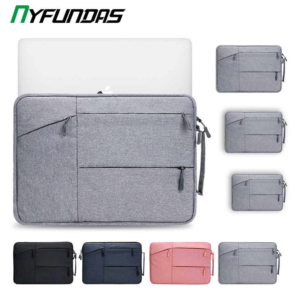 Laptop Sleeve Bag 15.6 Inch Voor Macbook Air Pro Retina 13 16 15 13.3 15.4 Inch Laptop Case Pc Notebook cover Voor Xiaomi Hp Dell