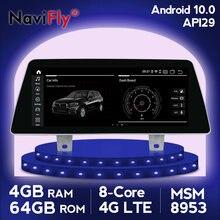 IPS 4G LTE Android 10 samochodowy odtwarzacz dvd odtwarzacz multimedialny nawigacja GPS dla BMW serii 5 G30 2018 EVO wsparcie iDrive Radio wideo WIFI GPS