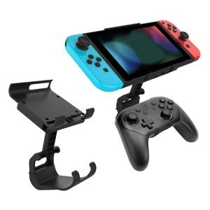 Image 1 - Adjustable Handle Clamp Mount Holder for Nintend Switch/Lite Controller Handle Clip Gamepad Bracket For Switch Accessories