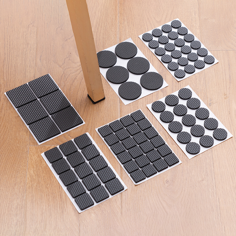 8 16 30 Pieces/set Chair Leg Caps Chair Leg Protector Covers Furniture Table Leg Covers Round Rectangular Square Chair