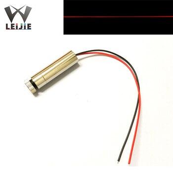 цена 650nm 250mW Line Adjustable Focusable High Power 12*45mm 3V-4.5V Red Laser Module Industrial 12mm LED LD Module онлайн в 2017 году