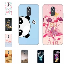 For LG Q Stylo 4 Stylus Case Soft TPU Silicone Cover Flamingo Patterned Plus Funda