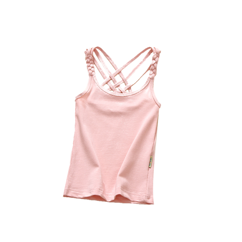 ZWY128 Family Matching Vest Mother and Daughter Kids Matching Vest Tank Tee One Pieces Outfit Casual T shirt