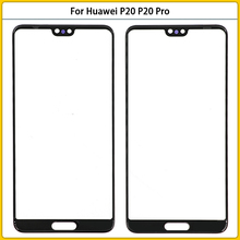 10pcs Touch Panel For Huawei P20 P20 Pro LCD Screen Front Glass Lens Repair Parts Front Outer Glass Lens Replacement