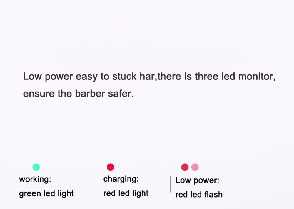 Xiaomi yueli bebê hair clipper navalha à