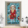 The Sun and Moon wiht  Star Tarot Tapestries Aesthetic Bohemian Wall Hanging Tapestry for Bed Room Living Room Dorm Home Decor