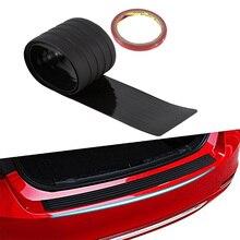 90 104cm 러버 리어 가드 범퍼 프로텍터 트림 커버 보호 시보레 크루즈 현대 르노 Amg 자동차 스타일링