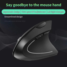 Antscope 2019 New Generation Ergonomic Wireless Battery Vertical Mouse Stereo Office