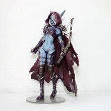 World Of Warcraft WOW Figure Sylvanas sorcière elfes Archer 7 pouces 18CM PVC jouets modèle cadeau favoris décoration Figma enfant jouet