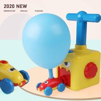 Ballon pour enfants jouets d coration d anniversaire amusant inertie ballon aliment voiture jouets a rodynamique