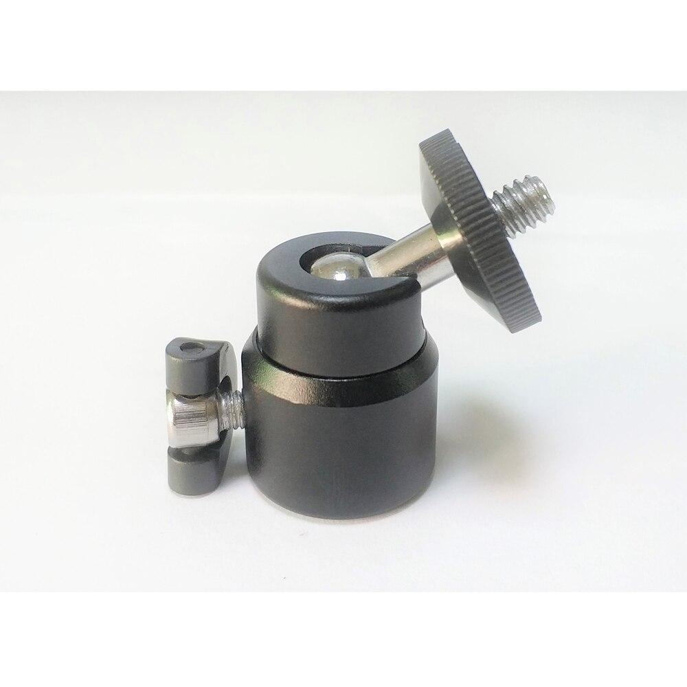 """360 градусов вращения алюминиевый мини-штатив шаровой головкой для монопод палка для селфи экшн-камера с 1/4"""" винт"""