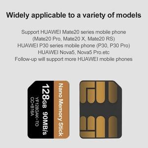 Image 5 - ננומטר כרטיס לקרוא 90 MB/S 128 GB Nano זיכרון כרטיס להחיל עבור Huawei Mate 20 Mate פרו 20 X P30 nova5 פרו