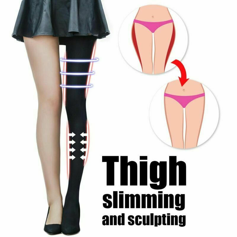 Compression Pantyhose Women Sexy Slimming Pants Slim Leg Stocking Firm Tight Control Panties Body Shaper Black Shaper 2019 New