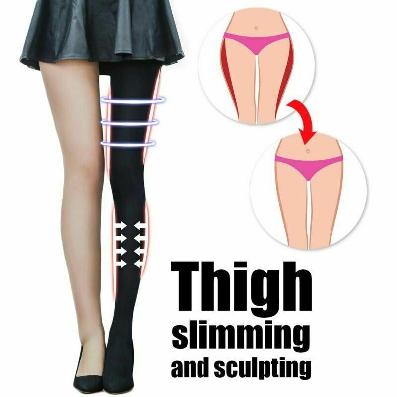 Compression Pantyhose Women Sexy Slimming Pants Slim Leg Stocking Firm Tight Control Panties Body Shaper Black Shaper 2019 New