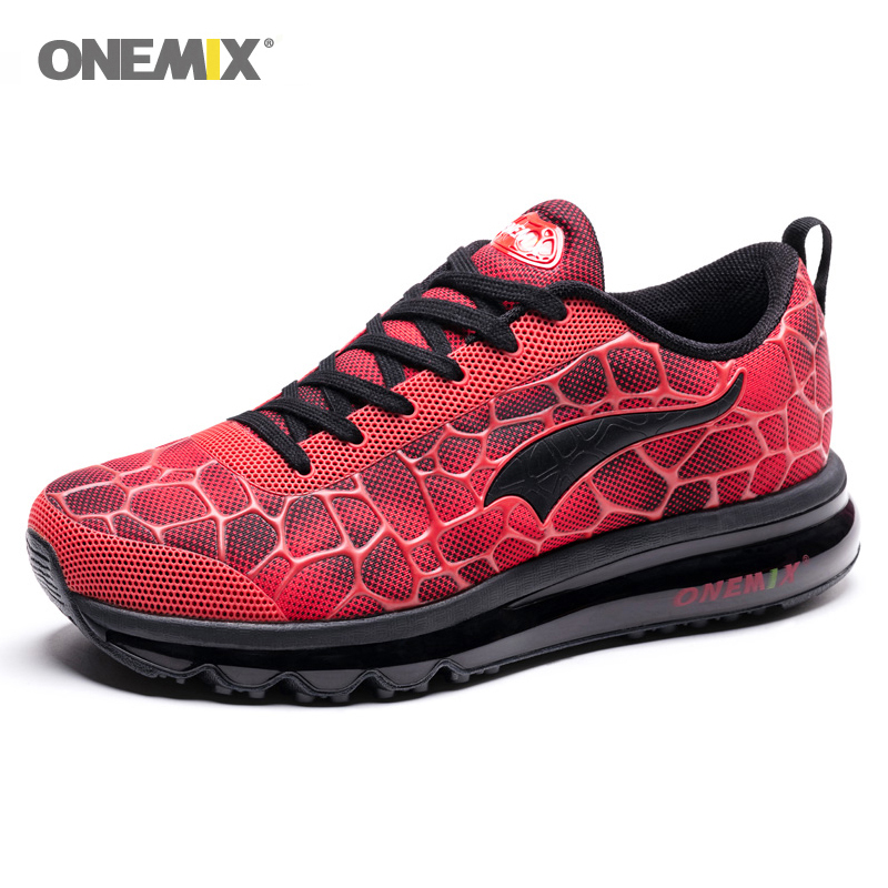 Original Brand Onemix Max 720 Running Shoes Men Outdoor Air Cushion Shoes Comfortable Breathable Zapatillas Hombre Massage