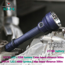 Amutorch TC500 XHP70/SST70 4000 lumens powerful led flashlight