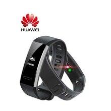 Orijinal Huawei Band 2 pro B29 B19 bileklik monitörü spor 50m yüzmek su geçirmez Bluetooth OLED band