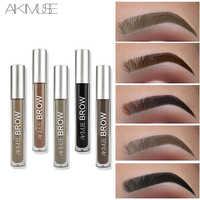 KIMUSE Eyebrow Gel Cream Waterproof Eyebrow Henna Tattoo Shade Eyebrow Pencil Long Lasting Professional Pigment Eyebrow Enhancer
