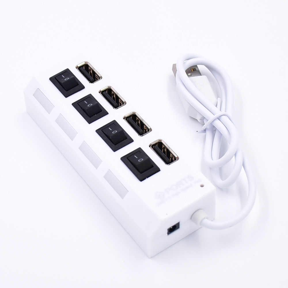 Zestaw oświetlenia LED pasuje Lego opakowanie na baterie z Usb 4 / 7 portowy Hub USB klocki małe przejściówka zabawki