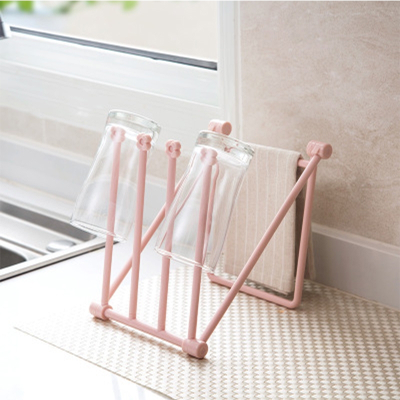 Baby Bottle Drying Rack Kids Multifunction Foldable Useful Infant 3 Colors Cleaning Milk Cup Rack Nipple Pacifier Storage Holder