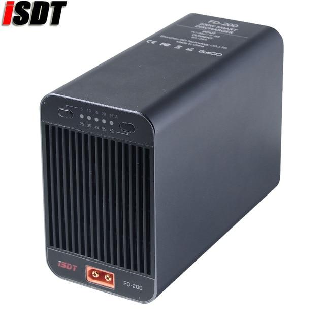 ISDT FD 200 200W 25A 지원 2 8S Lipo 배터리 무선 APP 제어 방전기 RC 드론 예비 부품 RC 작은 선물 현재 장난감