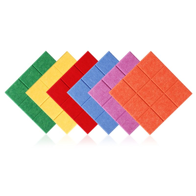 Nordic Style Felt Background Letter Board Photo Wall Household Message Display