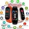 M6 Wholesale Smart Watch 2021 For Men Women Heart Rate Blood Pressure Monitor Waterproof Sport Fitness Smartwatch
