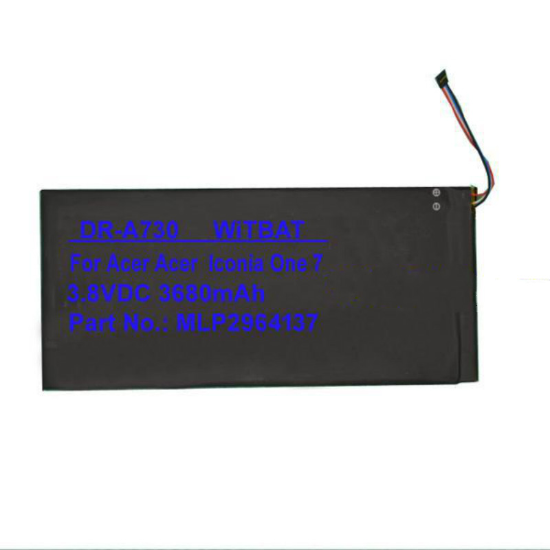 TTVXO 3680 MAh Battery For Acer Iconia One 7,B1-730,MLP2964137