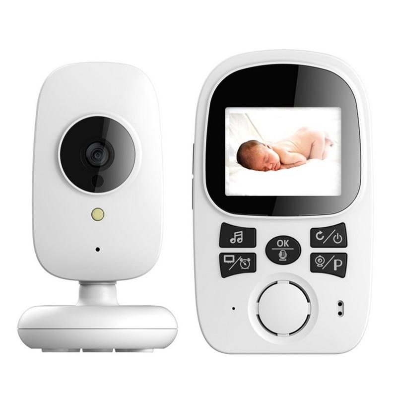 Wireless Video Baby Monitor 2.4 Inch Nanny Camera 2 Way Talk Night Vision IR LCD Temperature Monitor Infant Baby Sleep Camera