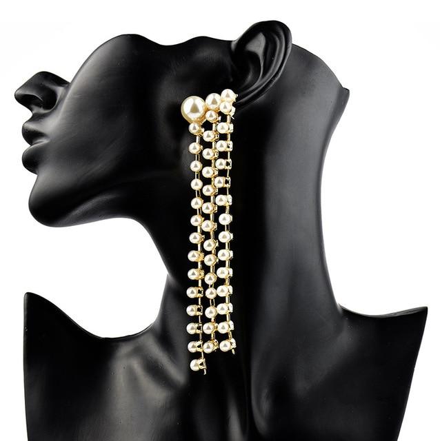 Купить женские серьги с кисточками lzhlq длинные сережки подвески геометрическим