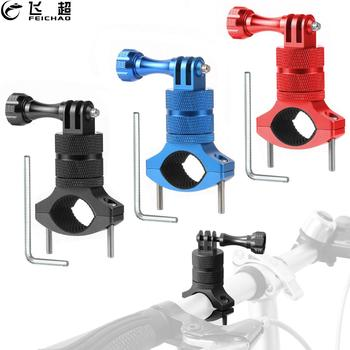 Bike Bicycle Phone Holder 360 Swivel Universal Cycling Motorcycle Handle Bar Stand Mount Clamp Metal for MTB Gopro Action Camera - sale item Camera & Photo