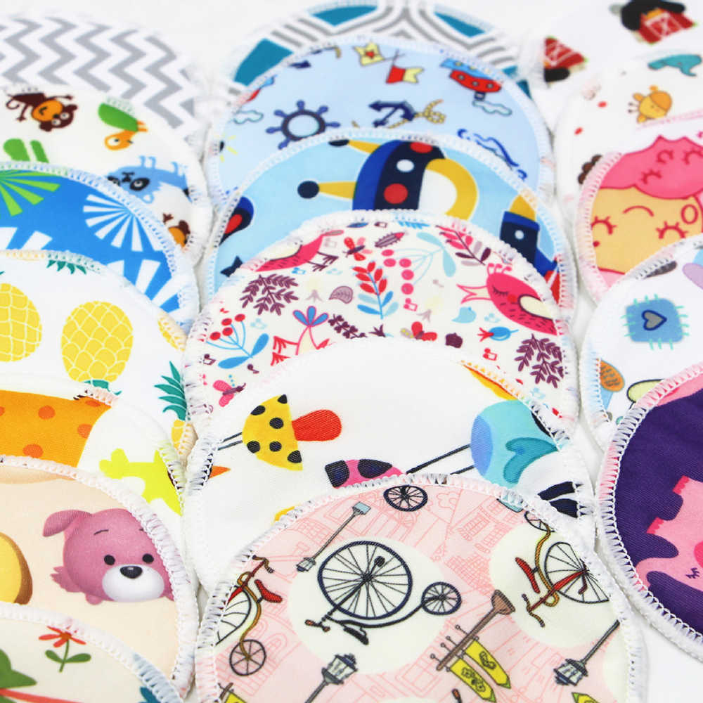 Reutilizável almofadas de mama almofadas de enfermagem macio absorvente bebê amamentação à prova dwaterproof água tecido bambu sutiã dropshipping