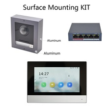 Hik Original Multi Language 802.3af POEวิดีโอIntercom KIT,Doorbell,กล้องกลางแจ้งและWiFiจอภาพในร่ม