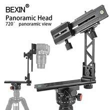 BEXIN Cabezal de trípode giratorio de alta cobertura, 360 grados, placa de índice de nodos, disparo de cielo estrellado para cámara dslr