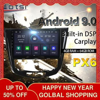 For Nissan X-Trail xtrail X Trail 3 T32 Qashqai 2 J11 Car Radio Multimedia Video Player 2013 - 2017 Navigation No 2din 2 din dvd image
