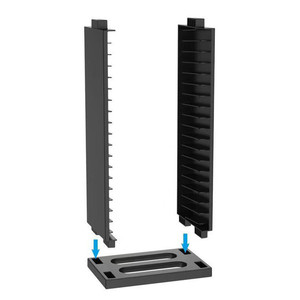 Image 2 - PS4 Dubbele 2 Layer Opslag Stand Base Cradle Kit 36 Pcs Game Discs Zetels Voor PS4 Pro/PS4 Slanke /PS4 Houder Collectie Display