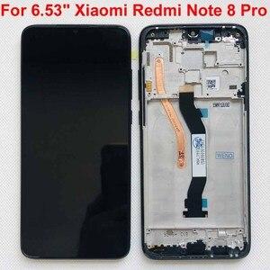 """Image 5 - מקורי חדש עבור 6.53 """"Xiaomi Redmi הערה 8 Pro LCD תצוגת מסך + מסך מגע Digitizer עם מסגרת עבור redmi הערה 8 Pro LCD"""