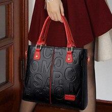 Senhoras carta ombro sacos de mão para as mulheres 2021 bolsas de luxo bolsas femininas designer moda sac grande capacidade sacola
