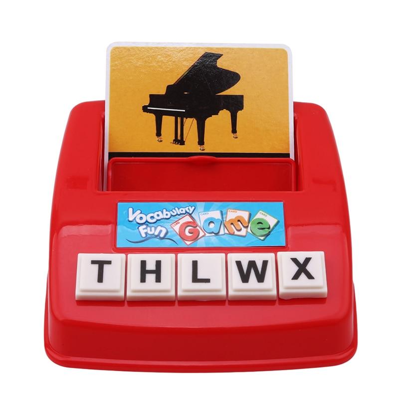 Алфавит буквы карточная игра выучите США Английский язык ABC детские развивающие игрушки Обучающие игры для обучения