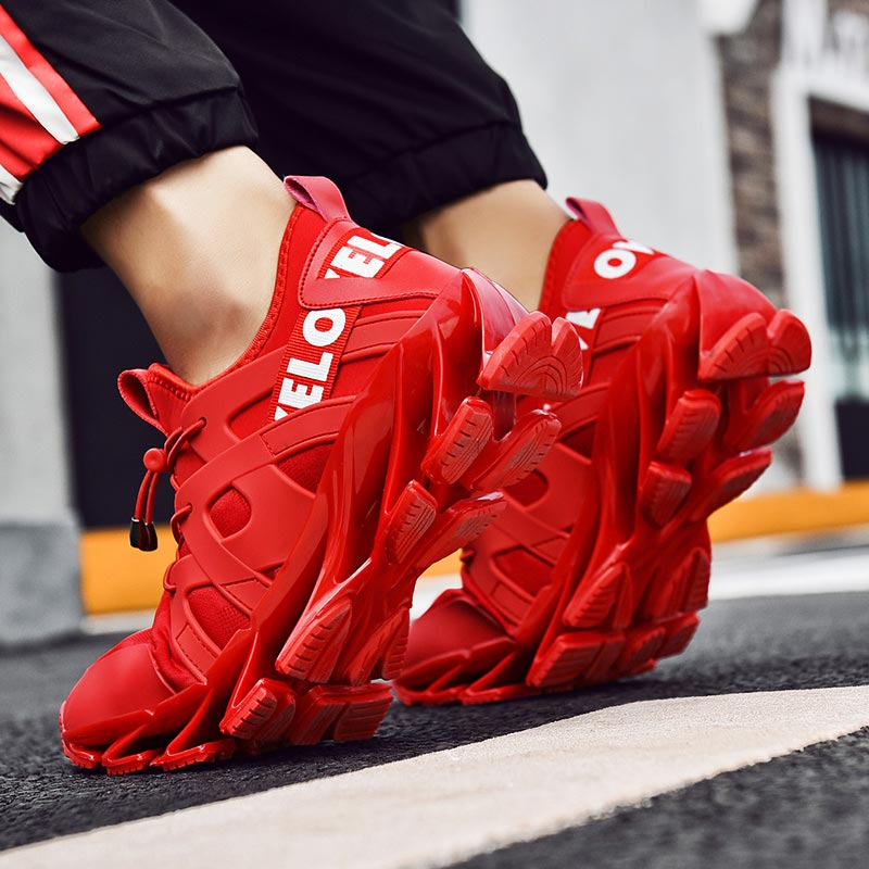 Outdoor Air Soles Men Sport Shoes Men's Sneakers Male Running Shoes Men's Sports Shoes Mens Runners Red Boty Trainers Gym E-202
