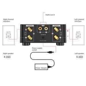 Image 4 - 50W x 2 Mini wzmacniacz klasy D Stereo Bluetooth 5.0 TPA3116 TF 3.5mm wejście usb Hifi Audio wzmacniacz domowy do telefonu komórkowego/komputera/laptopa
