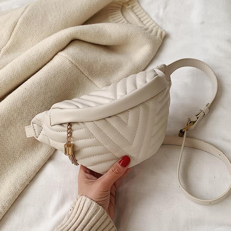 Маленькая простая сумка через плечо для женщин 2020, сумка мессенджер с кисточками, женские модные сумки и сумочки|Сумки с ручками|   | АлиЭкспресс