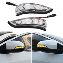 2pcs For Toyota Auris E180 2013 2018 Dynamic Blinker LED Turn Signal Light Side Mirror Indicator Sequential